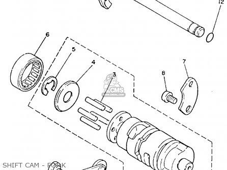 Yamaha YFM80T MOTO-4 1987 parts lists and schematics