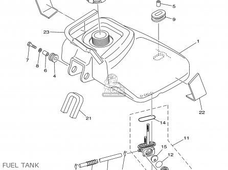 Yamaha Yfm80wr 2003 parts list partsmanual partsfiche