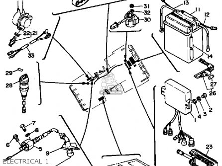 Yamaha YFP350U 1988 TERRAPRO parts lists and schematics