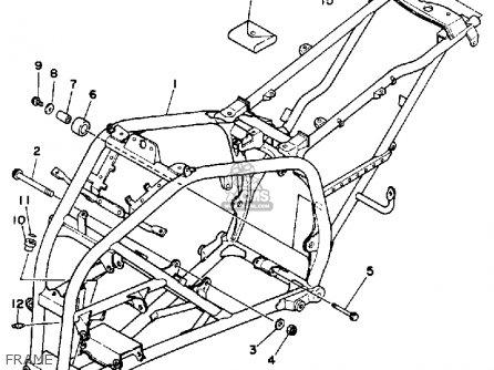 Yamaha YFS200A BLASTER 1990 parts lists and schematics