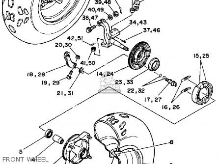 Yamaha Blaster Carburetor Diagram Yamaha Vmax Carburetor