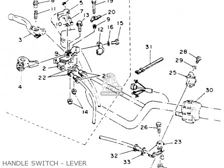 Yamaha Blaster Transmission Diagram, Yamaha, Free Engine