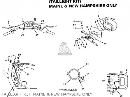 Yamaha Yfs200e Blaster Maine And New Hampshire 1993 parts