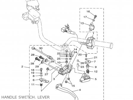 Yamaha YFS200R 2003 USA 50 STATES parts lists and schematics