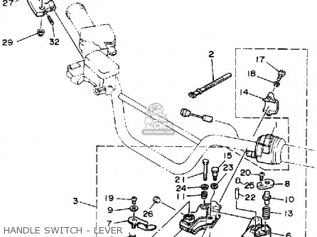 Yamaha YFZ350A BANSHEE 1990 parts lists and schematics