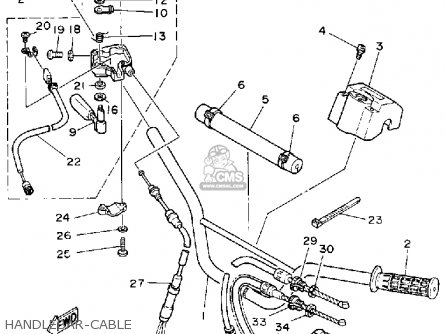 Yamaha Yfz350d Banshee 1992 parts list partsmanual partsfiche