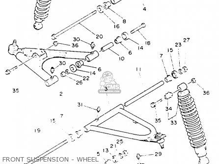 Yamaha Yfz350e Banshee 1993 parts list partsmanual partsfiche