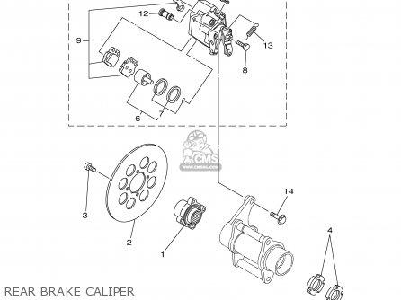 Yamaha YFZ350R 2003 USA 50 STATES parts lists and schematics