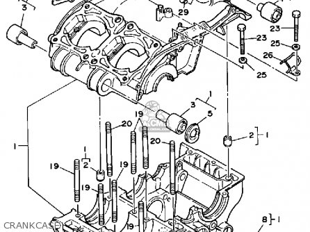 Yamaha Yfz350t 1987 Banshee parts list partsmanual partsfiche
