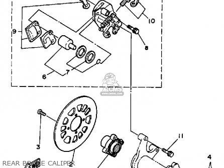 Yamaha Yfz350t 1987 Banshee parts list partsmanual partsfiche