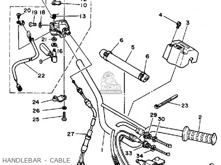 Yamaha YFZ350U 1988 BANSHEE parts lists and schematics
