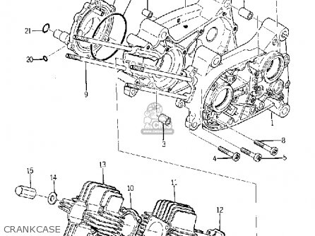 Yamaha Yg1 1964- parts list partsmanual partsfiche