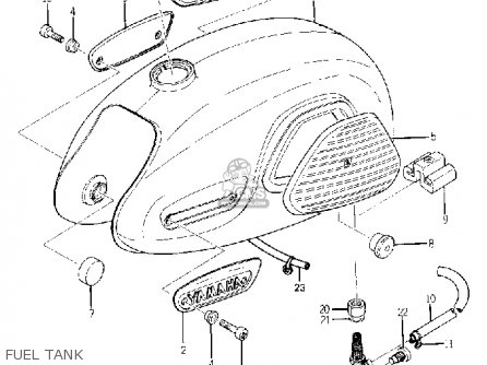 Yamaha YG1 TRAILMASTER 80 1964 USA parts lists and schematics