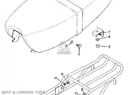 Yamaha Yg5s Trailmaster 80 1969 Usa parts list partsmanual