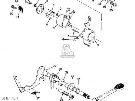 Yamaha Yg5t Trailmaster 80 1968 Usa parts list partsmanual