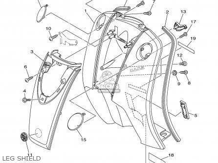 Yamaha YJ50R VINO 2002 (2) USA parts lists and schematics