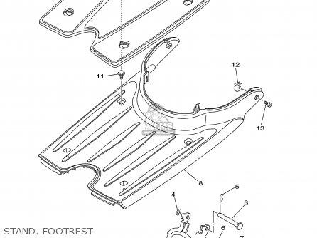 Yamaha YJ50RA VINO CLASSIC 2003 (3) USA parts lists and