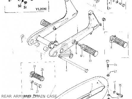 Yamaha YL2C 1967 1968 USA parts lists and schematics