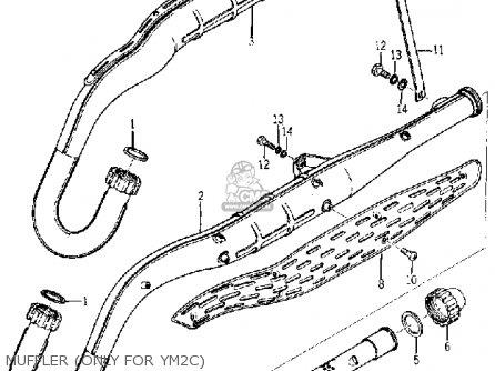 Yamaha YM2C 1967 USA parts lists and schematics