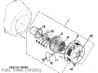Yamaha YP20G YP20GA YP30G YP30GA WA parts lists and schematics