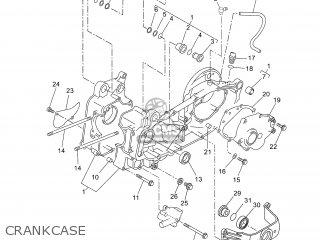Yamaha Yp250r 2007 1c04 Spain 1f1c0-351f1 parts list