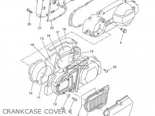 Yamaha Yp250r 2007 1c04 Ukraine 1f1c0-300e1 parts list