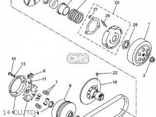 Yamaha YP250R 2011 37P5 EUROPE X-MAX 250 1K37P-300EK parts