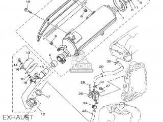 Yamaha YP400 2005 5RU8 AUSTRALIA 1D5RU-300E1 parts lists