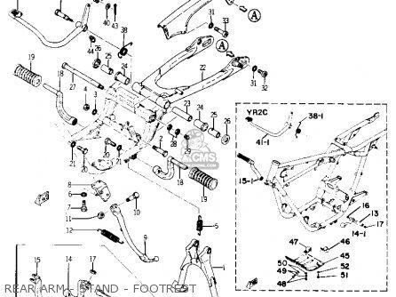 Yamaha YR1 DUAL PURPOSE 1967 1968 USA parts lists and