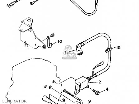 Yamaha YS624TM SNOW BLOWER 1988 parts lists and schematics