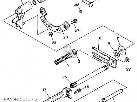 Yamaha YS624WM 1988 parts lists and schematics