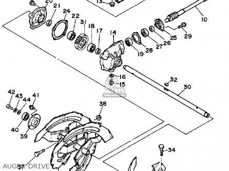 Yamaha Ys624wn/wen 1989 parts list partsmanual partsfiche
