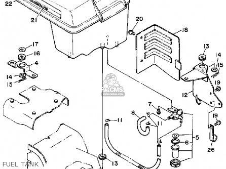 Yamaha YS828TM SNOW BLOWER 1988 parts lists and schematics