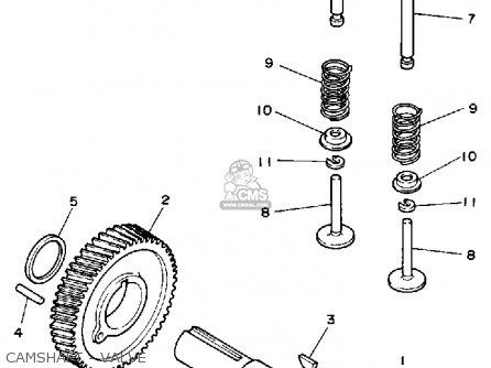 Yamaha Ys828tm Snowblower 1988 parts list partsmanual