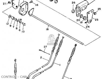 Yamaha Ys828wm Snow Blower 1988 parts list partsmanual