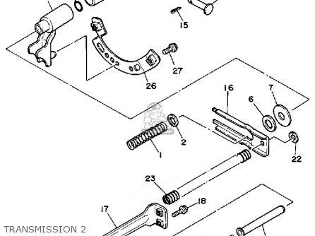Yamaha Ys828wn Ys828wen Snow Blower 1989 parts list
