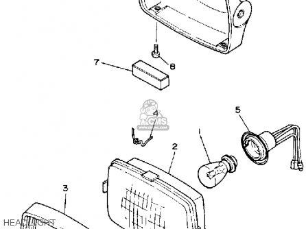 Yamaha Ysp200w Blaster 1989 parts list partsmanual partsfiche