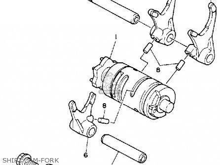 Yamaha YSP200W BLASTER 1989 parts lists and schematics