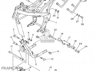 Yamaha YSR50 1987 2RR GERMANY 272RR-332G1 parts lists and
