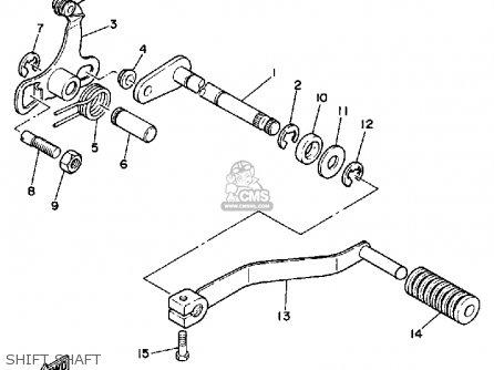 Yamaha YSR50 1987 (H) USA parts lists and schematics