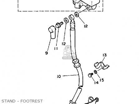 Yamaha Ysr50 1988 (j) Usa parts list partsmanual partsfiche