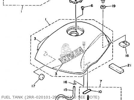 Yamaha Ysr50 1989 (k) Usa parts list partsmanual partsfiche