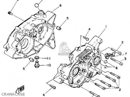 Yamaha YSR50 1990 (L) USA parts lists and schematics