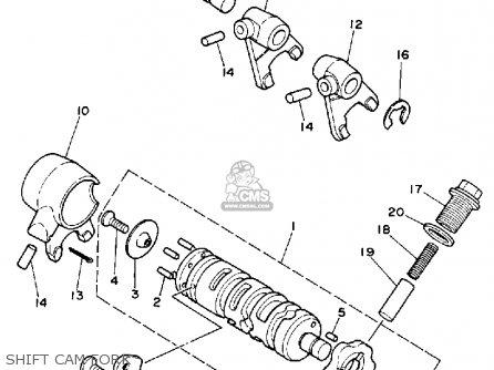 Yamaha Ysr50 1991 (m) Usa parts list partsmanual partsfiche