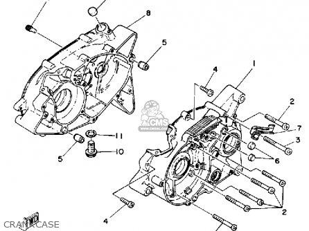 Yamaha Ysr50 1992 (n) Usa parts list partsmanual partsfiche
