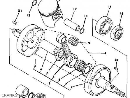 Yamaha YT175K 1983 parts lists and schematics