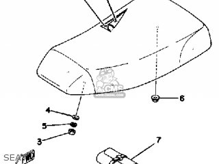 Yamaha Yt175k 1983 parts list partsmanual partsfiche