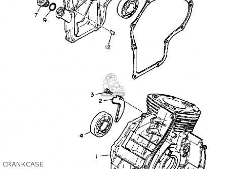 Yamaha Yt3600m Front Engine Lawn Tractor 1988 parts list