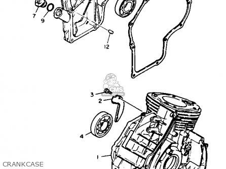 Yamaha Yt3600n 1989 parts list partsmanual partsfiche