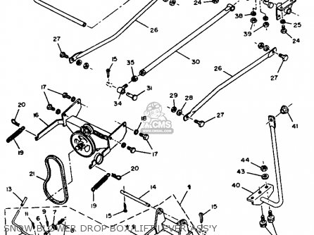 Yamaha YT3600N 1989 parts lists and schematics